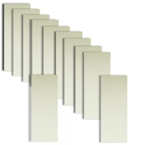 Frost White Card Insert DL Size 1 (Large) 204 x 95mm