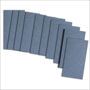 Kings Blue Pearlised Card Insert For Mini Pocket (Small)
