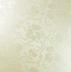 A3 Ivory (Off White) Broderie Embossed Card Table Plan