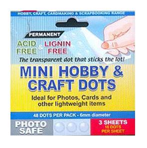 Mini Glue Dots - PERMANENT