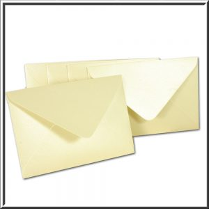 C6 Pearlised Envelope 120gsm 10 per pack