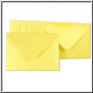 C6 Gold Pearlised Envelope 120gsm 10 per pack