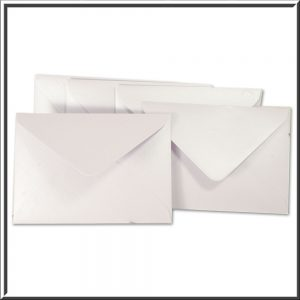 C6 Lilac Pearlised Envelope 120gsm 10 per pack