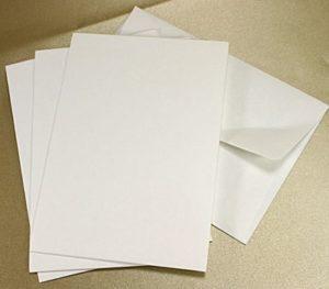 C6 Textured Envelopes Packs of 10