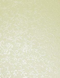 Cotton White Applique Card Insert Size 2 (Medium