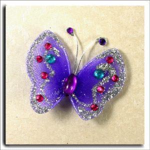 Diamante & Glitter Butterfly