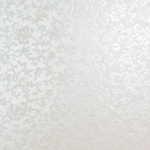 10 Dandy White Applique Square Envelopes