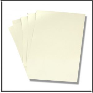 10 C6 Frost White Paper Inserts