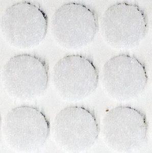 210 White Self Adhesive (105 Hook & 105 Loop) Disks 13mm