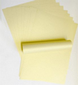 10 A4 Paper Peregrina Majestic Mellow Gold Shimmer 120gsm