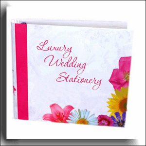 Wedding Stationery Display Album and Inserts