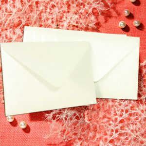 White 155 x 110 Envelope 10 per pack