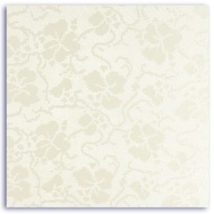 Dandy White Broderie Place Card