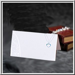Necklace Design Place Card