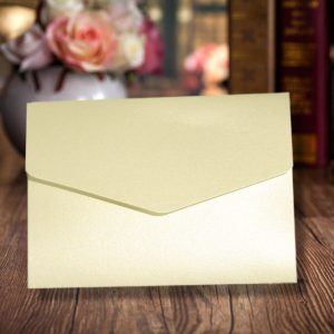 Opal A6 Pearlescent Pocketfold Invitations - Wedding Wallets