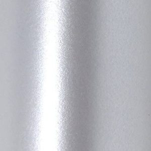 10 Sheets A4 Silver Double Sided Pearlescent Card Stock 250gsm