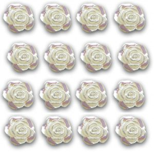 Mini Pearl Resin Embellishments