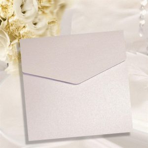 10 Lilac Pearlescent Square Pocketfolds