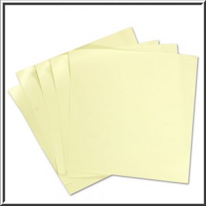 Opal Pearlised Double sided Paper Inserts 130 x 130 mm 10 sheets
