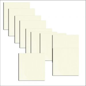 Quarzo Pearlised Double Sided Paper Inserts 130 x 130 mm