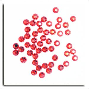 Red Round Crystals 4mm