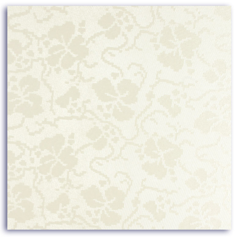 A2 Dandy White Broderie Embossed Large Card