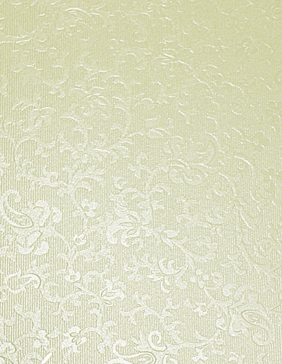 A2 Applique Ivory (Cotton White) Embossed Card Table Plan