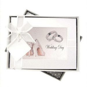 Wedding Shoes & Rings Photo ALBUM - SMALL