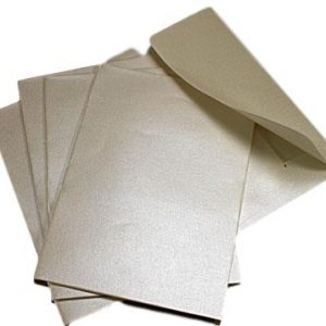 10 Treasury Essence Gold C6 Envelopes Self Seal.