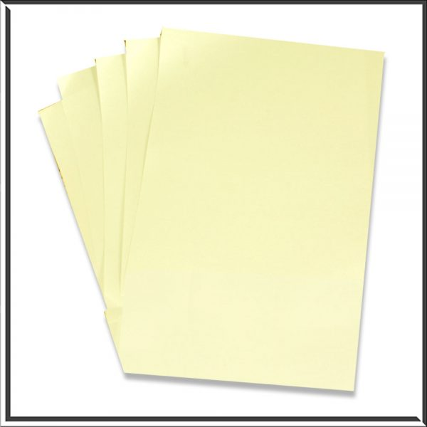 10 C6 Pearlescent Opal Paper Inserts