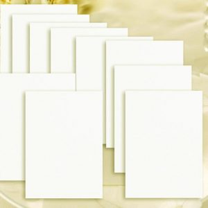 10 C6 Smoth Natural Ivory Inserts