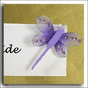 12 Lilac Fabric Dragonflies Lilac