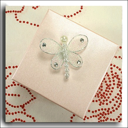 Sparkle & Pearls Dragonfly