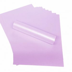 A4 Paper Pearlescent Pale Lavender Peregrina Majestic 120gsm