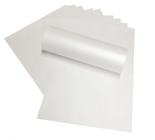 A4 Frost White Double Sided Paper Inserts