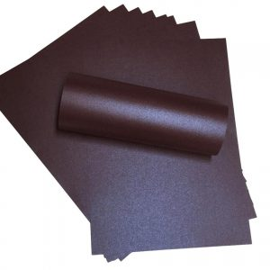 A4 Paper Pearlescent Peregrina Majestic Nightclub Purple 120gsm