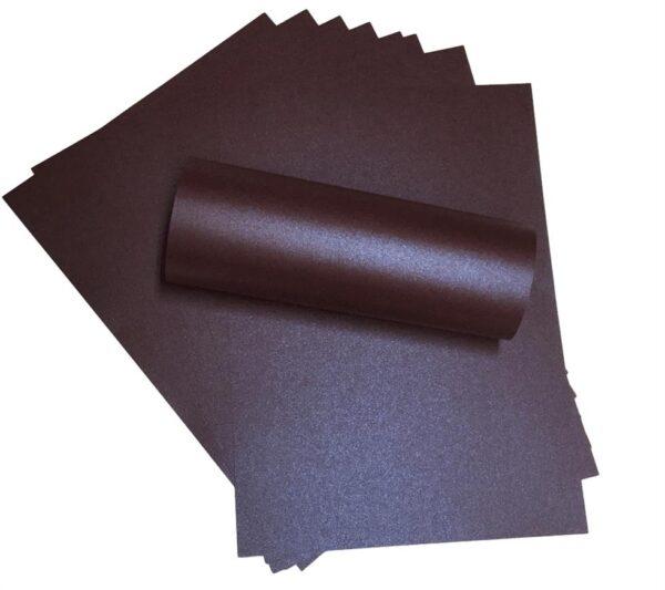 A4 Paper Pearlescent Peregrina Majestic Nightclub Purple 120gsm