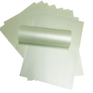 A4 Paper Pearlescent Peregrina Majestic Fresh Mint Green 120gsm