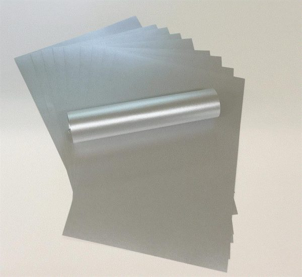A4 Paper Pearlescent Real Silver Colour 120gsm