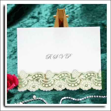 20 3d Amp Ivory Dream Ivory Shimmer Laser Cut Rsvp Wedding