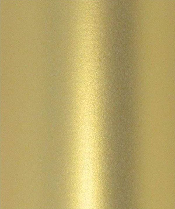 10 A4 Paper Pearlescent Peregrina Majestic Real Gold 120gsm