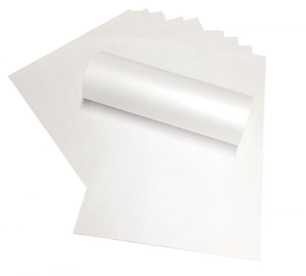 a4 paper pearlescent peregrina majestic Snow White 120gsm
