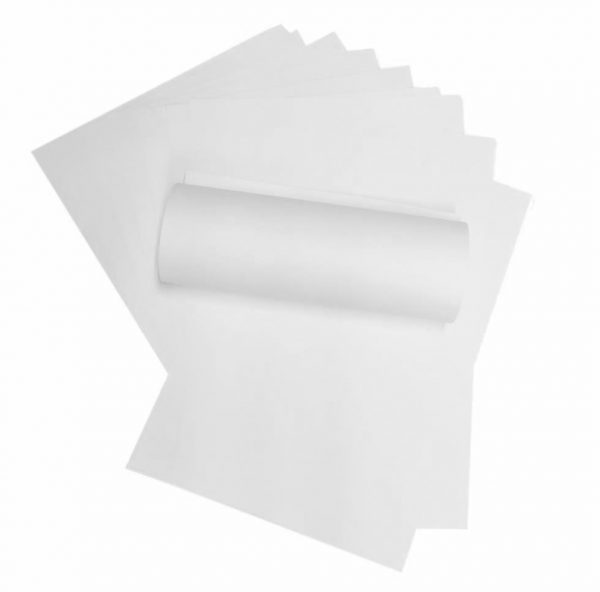10 Sheets of Glacier White A4 Paper 120gsm