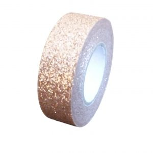 Rose Gold Glitter Washi Tape Decorative Masking Self Adhesive