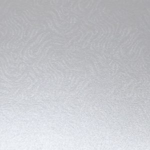 10 A4 Card Real Silver Embossed Brocade Design 290gsm