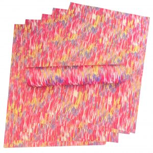 A4 Glitter Paper Pink, Red, Purple, Yellow and White Colour Mix Sparkly Soft Touch Non Shed 100gsm 10 Sheets
