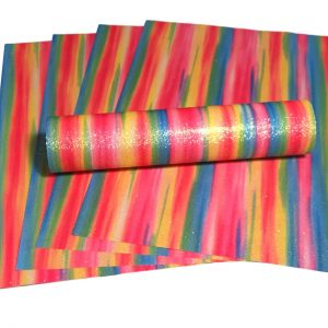 A4 Glitter Paper Multi Colour Rainbow Mix Sparkly Soft Touch Non Shed 100gsm 10 Sheets