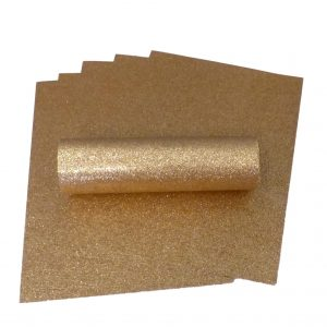 Rose Gold Glitter Card A4 Sparkly Soft Touch Non Shed 250gsm Pack of 10 Sheets