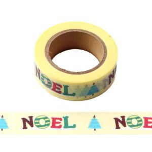 NOEL Celebration Christmas Decorative Washi Tape