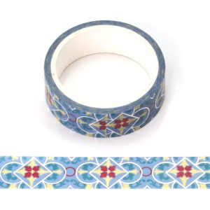 Christmas Theme Washi Tape Ideal For Christmas With Silver Foil